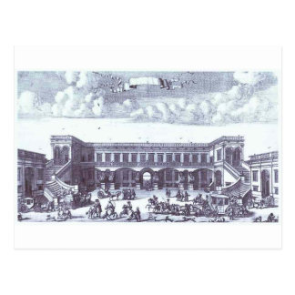 View of the Gagarin's Moscow Mansion Postcard