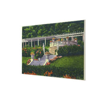 View of the Gardens at Yaddo Canvas Print