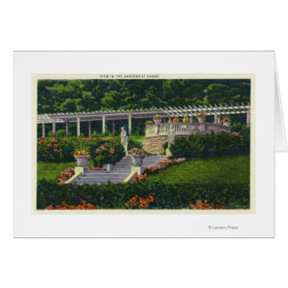 View of the Gardens at Yaddo Greeting Card