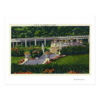 View of the Gardens at Yaddo Postcard