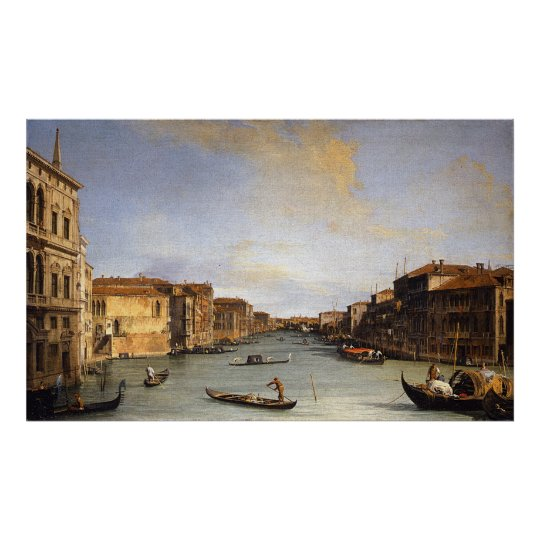View of the Grand Canal, Venice - Canaletto