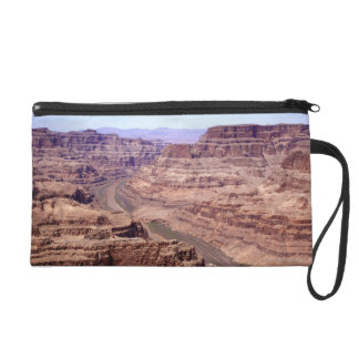 View of the Grand Canyon, Arizona Wristlet Clutch