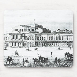 View of the Grand Theatre, Warsaw Mouse Mat