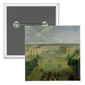 View of the Grand Trianon, 1722 15 Cm Square Badge