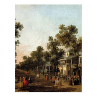 View Of The Grand Walk, vauxhall Gardens Postcard