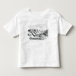 View of the Great Wall on the side Toddler T-Shirt