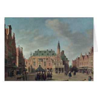 View of the Grote Markt in Haarlem Card