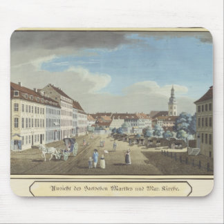 View of the Hackescher Markt Mouse Pad