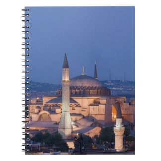 View of the Haghia Sophia Notebook