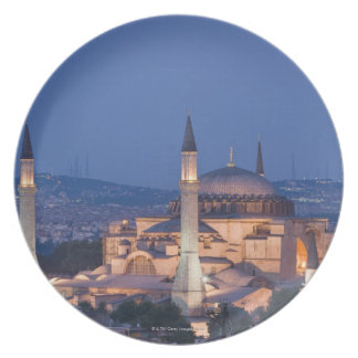 View of the Haghia Sophia Plate