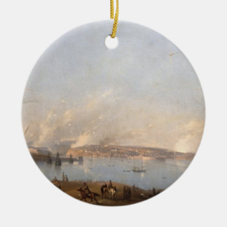 View of the Harbour of Sebastopol during the Crime Christmas Ornament