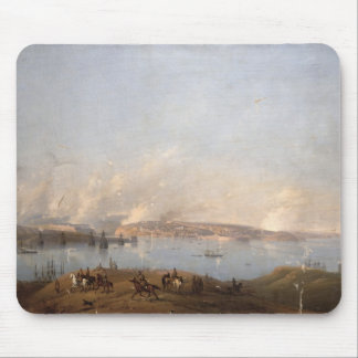 View of the Harbour of Sebastopol during the Crime Mouse Mat