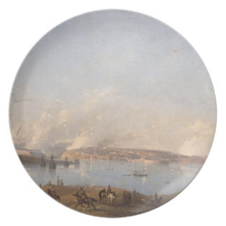 View of the Harbour of Sebastopol during the Crime Plate
