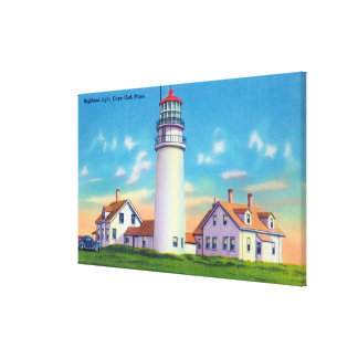 View of the Highland Lighthouse Canvas Print