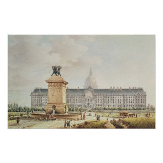 View of the Hotel des Invalides Poster