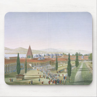 View of the Inner Courtyard of the Seraglio, Topka Mouse Mat