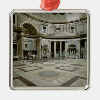 View of the interior christmas ornament