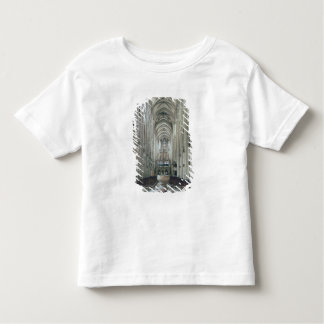 View of the interior looking east, begun 1230 toddler T-Shirt
