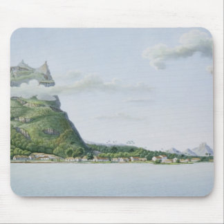 View of the Island of Bora Bora, from 'Voyage auto Mouse Mat