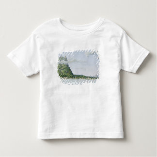 View of the Island of Bora Bora, from 'Voyage auto Toddler T-Shirt