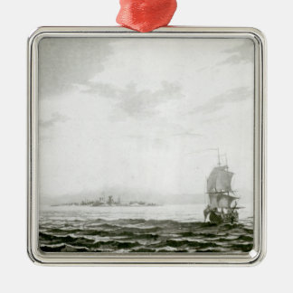 View of the Island of Tappanooly Christmas Ornament