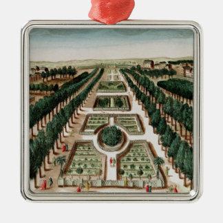 View of the Jardin des Plantes Christmas Ornament