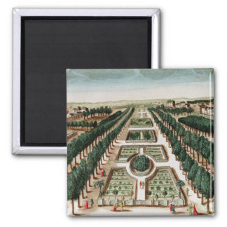 View of the Jardin des Plantes Magnet