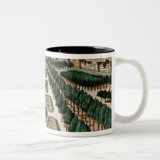 View of the Jardin des Plantes Two-Tone Coffee Mug
