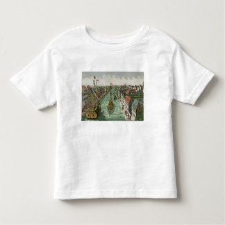 View of the Kettel Gate in Delft (engraving) Toddler T-Shirt