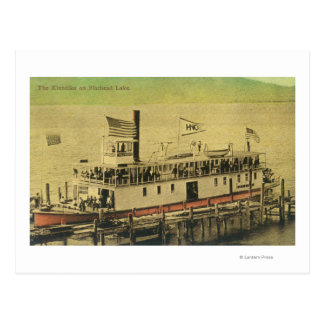 View of the Klondike Riverboat Postcard