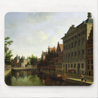 View of the Kloveniersburgwal in Amsterdam Mouse Mat