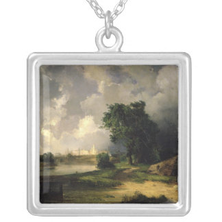 View of the Kremlin in Bad Weather, 1851 Necklace
