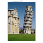 View of the Leaning Tower Greeting Card