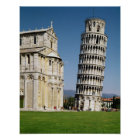 View of the Leaning Tower Poster