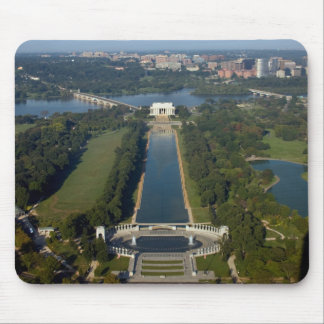 View of the Lincoln Memorial Mouse Pad