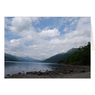 View of the Loch Greeting Card