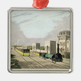 View of the Manchester and Liverpool Railway, take Christmas Ornament