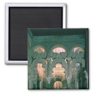 View of the maqsura and mihrab refrigerator magnets