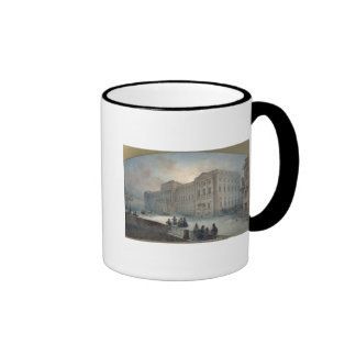 View of the Mariinsky Palace in Winter, 1863 Ringer Coffee Mug
