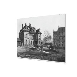View of the Maternite Port-Royal, 1905 Canvas Print