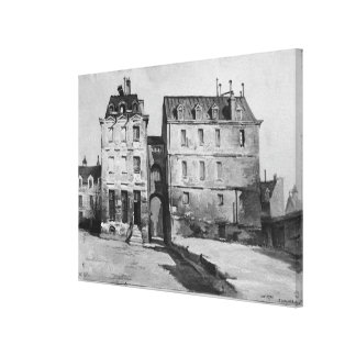 View of the Maternite Port-Royal Canvas Print