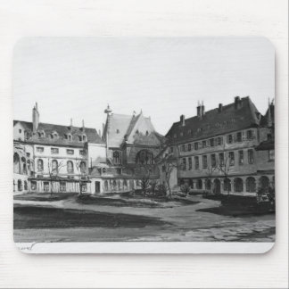 View of the Maternite Port-Royal the cloister Mouse Mat