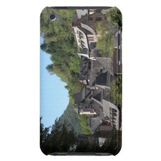 View of the medieval village (photo) iPod touch covers