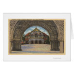 View of the Memorial Church, Stanford U. Greeting Card