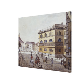 View of the mint, Berlin Canvas Print