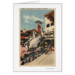View of the Mission Inn & Oriental Court Greeting Card