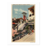 View of the Mission Inn & Oriental Court Post Card