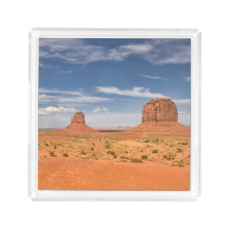 View of the Mittens, Monument Valley