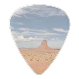 View of the Mittens, Monument Valley Acetal Guitar Pick