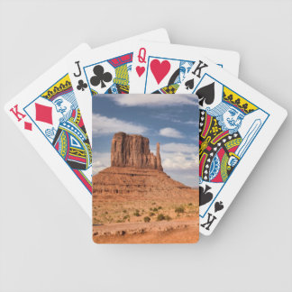 View of the Mittens, Monument Valley Bicycle Playing Cards